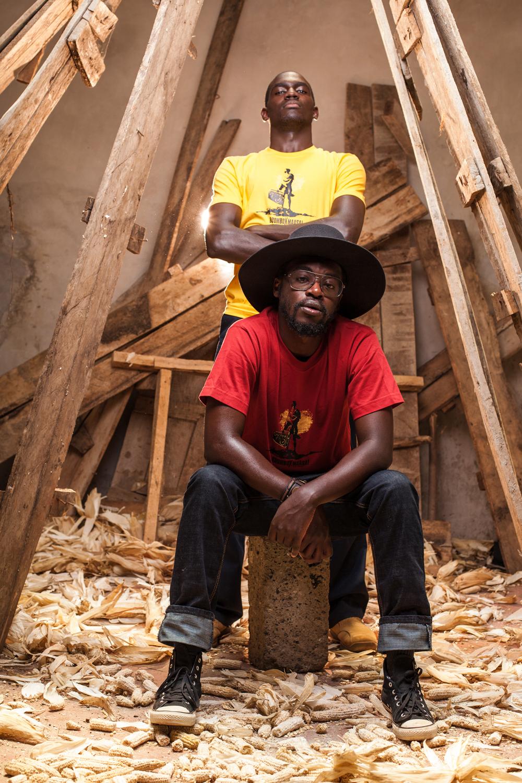 Boombox Maasai Mens tee